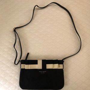 Kate Spade Black Crossbody with Bow